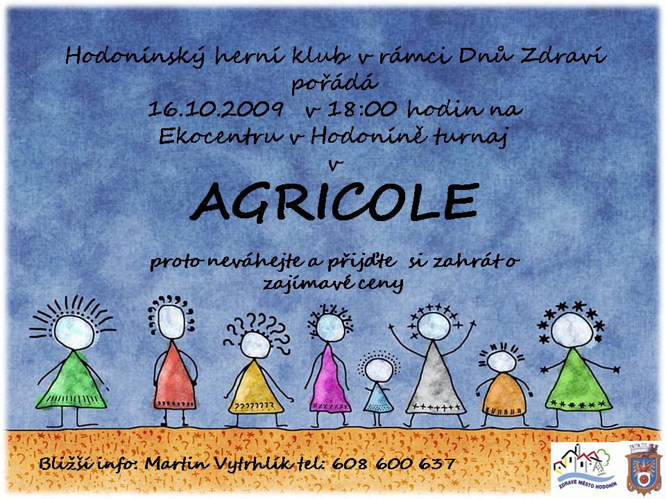 Turnaj v Agricole